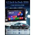 "2din Οθονη αυτοκινήτου 6,5"" διεθνή (Dvd,usb,gps,bluetooth,ipod,sdcard)"